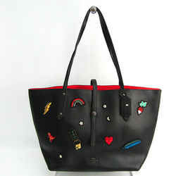 Coach Market Tote Polished Pebble Leather With Souvenir Embroidered 570 BF516947
