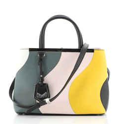 Multicolor 2Jours Bag Leather Petite