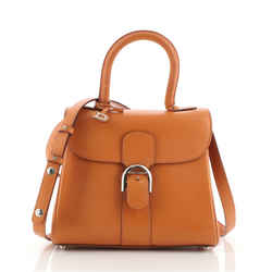 Brillant Top Handle Bag Leather Mini