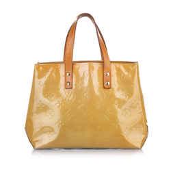 Vintage Authentic Louis Vuitton Brown Vernis Reade PM FRANCE