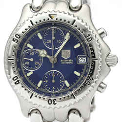 Polished Tag Heuer Sel Chronograph Steel Automatic Mens Watch Cg2111 Bf507558