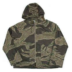Yeezy - New - Season 3 Parka Jacket Coat  Green Camo Hooded Zip  Men's US Medium
