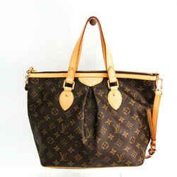 Louis Vuitton Monogram Palermo PM M40145 Women's Shoulder Bag Monogram BF516920