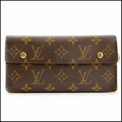 Rdc11393 Authentic Louis Vuitton Lv Monogram Portefeuille Accordeon Wallet
