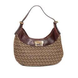 Fendi Vintage Zucca Hobo Bag