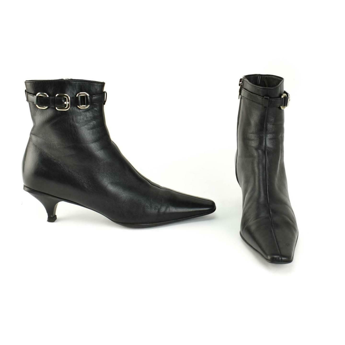Logo Ankle Boots/Booties Sz: 8M