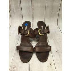 Manolo Blahnik Size 41/11 Dark Brown Heels