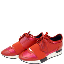 Balenciaga Race Runner Low-top Sneakers Red