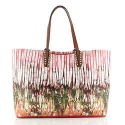 Cabata East West Tote Printed Leather Large