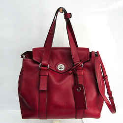 Marc By Marc Jacobs Working Girl Dolly Satchel M0007323 Women's Leather BF518865