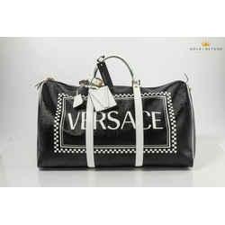 Versace 90's Vintage Logo Weekender Bag