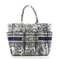 Catherine Tote Embroidered Canvas