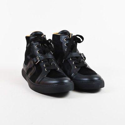 MENS Hermes Black Leather \u0026 Calf Hair