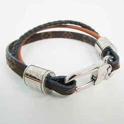 Louis Vuitton Monogram Brasserie LV Treble Leather,Metal,Monogram Bangl BF530282
