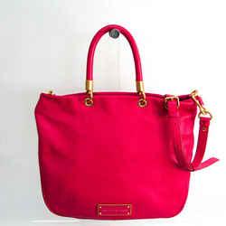 Marc By Marc Jacobs M3131056 Women's Leather Handbag,Shoulder Bag Pink BF520966