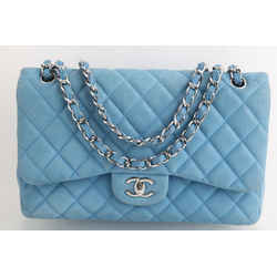 Chanel Quilted Caviar Medium Classic Double Flap Bag