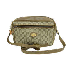 Authentic Gucci Monogram Plus Signature Vintage Guccissima Leather Canvas Large Emblem GP Shoulder Bag