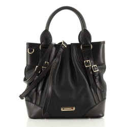 Bridle Whipstitch Convertible Tote Leather Small
