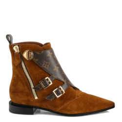 Louis Vuitton Jumble Flat Ankle Boots Size 38