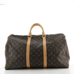 Keepall Bandouliere Bag Monogram Canvas 50