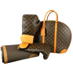 Louis Vuitton Karl Lagerfeld Ultra Rare Limited Monogram Boxing Glove Set 859629