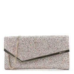 Erica Clutch Glitter Leather
