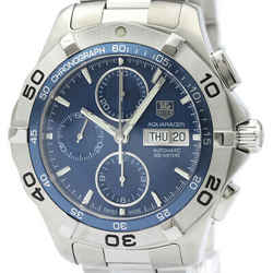 Polished TAG HEUER Aquaracer Chronograph Automatic Mens Watch CAF2012 BF516590