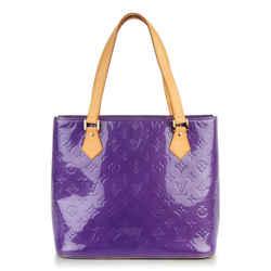 Louis Vuitton Purple Monogram Vernis Houston Zip Tote Bag 41LV713