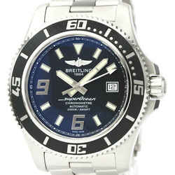 Polished BREILING Superocean 44 Steel Automatic Mens Watch A17391 BF529321