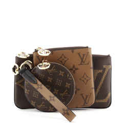 Trio Pouch Limited Edition Reverse Monogram Giant