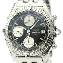 Polished BREITLING Chronomat Steel Automatic Mens Watch A13050.1 BF521128