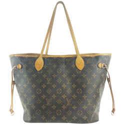 Louis Vuitton Monogram Neverfull MM Tote 15LVA1015
