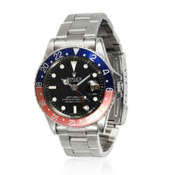 Rolex GMT-Master 1675 Men's Watch in  Stainless Steel