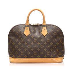 Brown Louis Vuitton Monogram Alma PM Bag