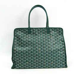 Goyard Le Chic Du Chien Hardy PM Leather,Canvas Tote Bag BF341507