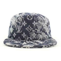 Louis Vuitton Size 60 Monogram Tapestry Baseball Cap Ou Pas Hat79lvs127