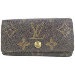Louis Vuitton Monogram Multicles 4 Key Holder Wallet Case 9lvs112