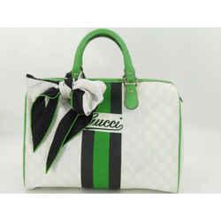 Gucci White Supreme Joy Boston Green 872713