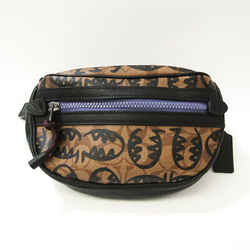 Coach Signature Lexi BY GUANG YU Veil 1507 Unisex PVC,Leather Sling Bag BF533264