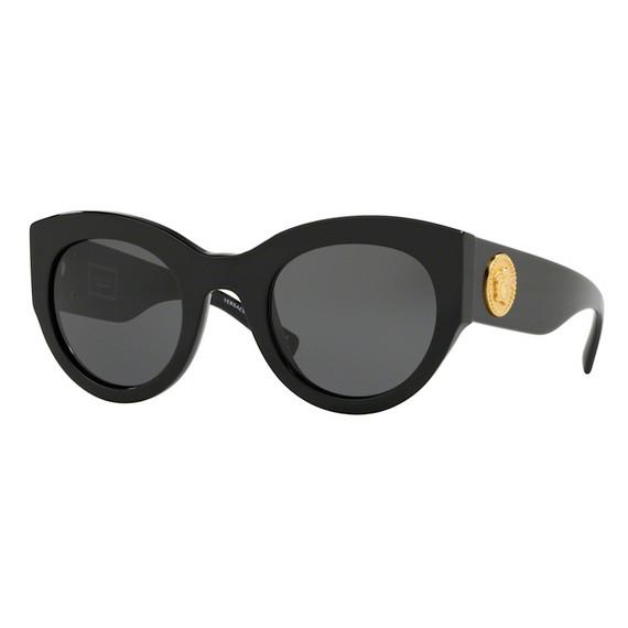 New Versace Black Sunglasses Ve 4353 Gb1/87