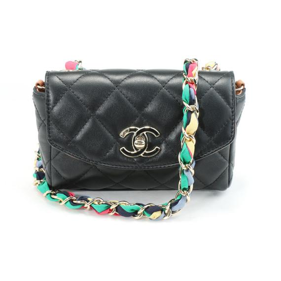 Chanel Mini Chevron Classic Flap Bag