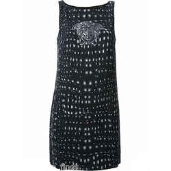 New Versace Medusa Print Dress 46 - 10