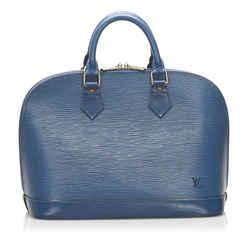Vintage Authentic Louis Vuitton Blue Epi Leather Leather Epi Alma PM France