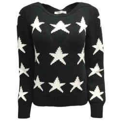 Max Mara Star Black Sweater