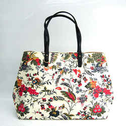 Tory Burch KERRINGTON SQUARE TOTE Floral Pattern 50631 Women's Leather, BF519800