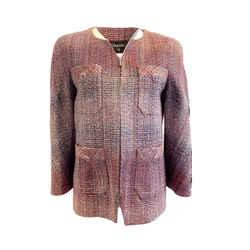 Chanel Multicolor Tweed Jacket