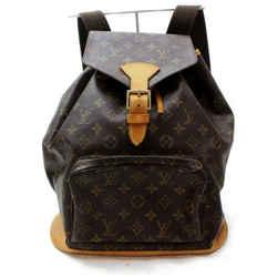 Louis Vuitton Monogram Montsouris GM Backpack Large Bookbag 860534