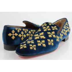 Christian Louboutin Men's Velvet Loafer