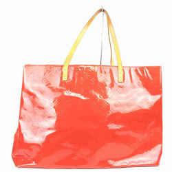 Louis Vuitton Large Red Monogram Vernis Reade GM Tote 861281