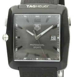 TAG HEUER Professional Sports GOLF Steel Quartz Mens Watch WAE1113 BF530186